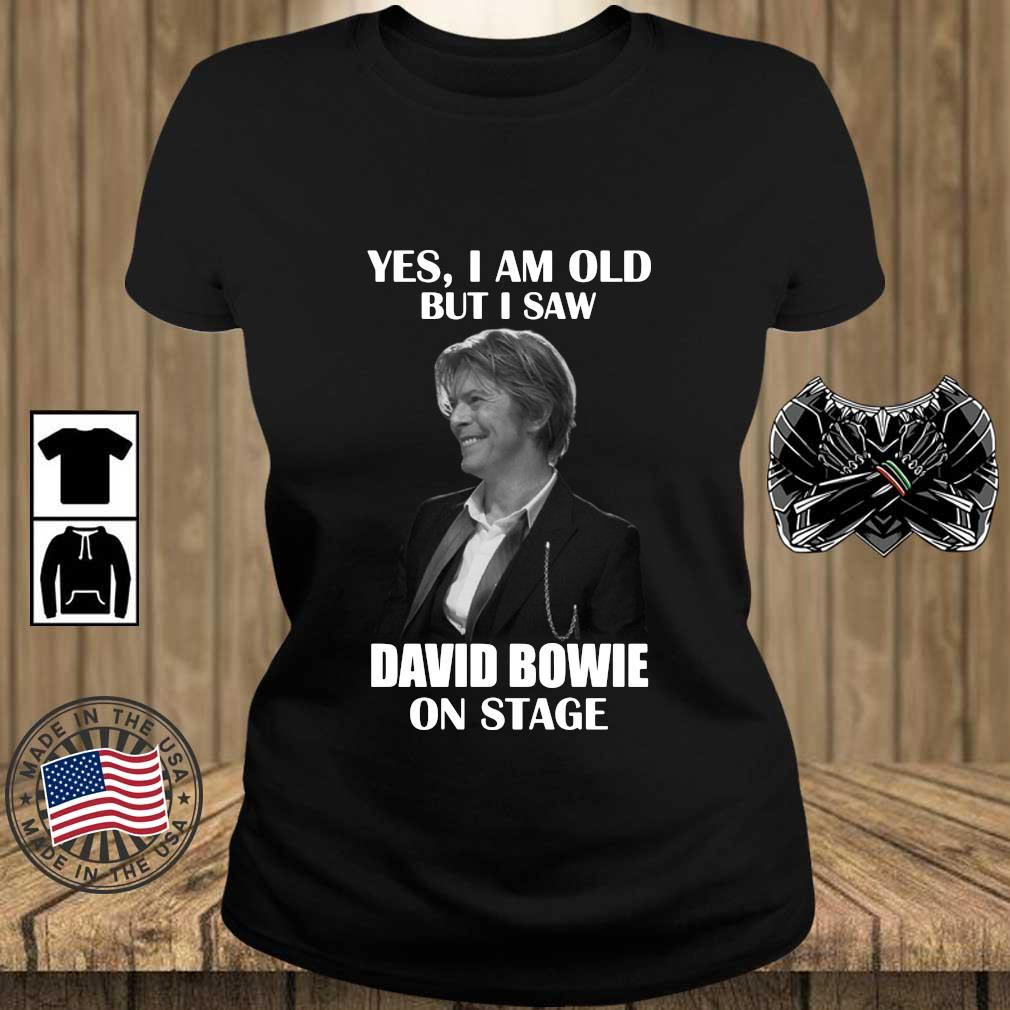 Yes I am old but I saw David Bowie on stage s Teechalla ladies den