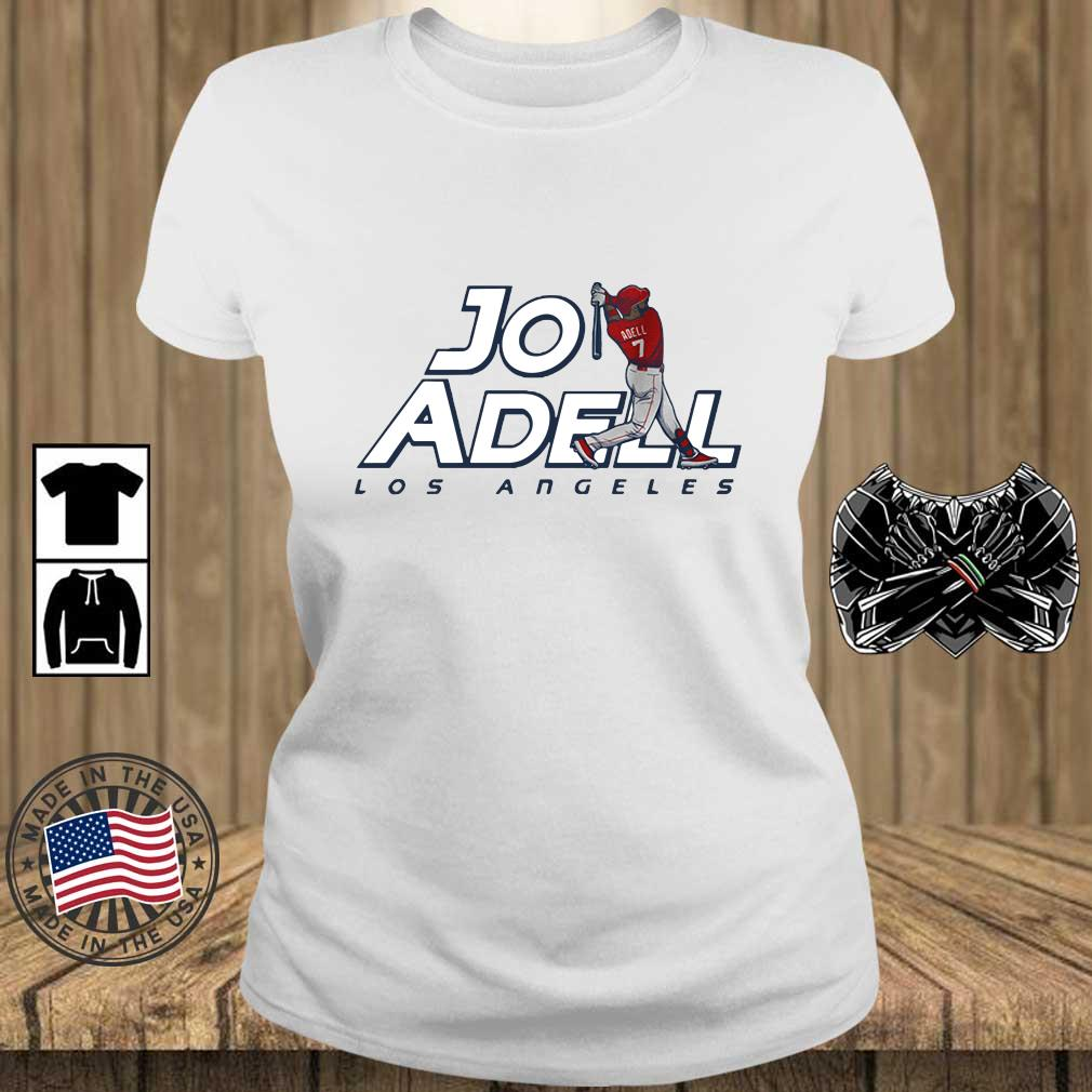 2021 Los Angeles Jo Adell Shirt Teechalla ladies trang