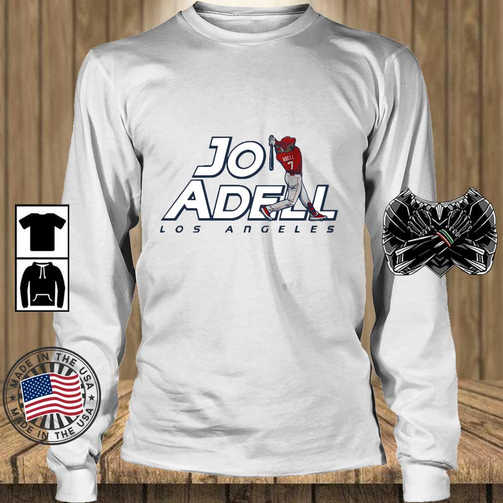 2021 Los Angeles Jo Adell Shirt Teechalla longsleeve trang