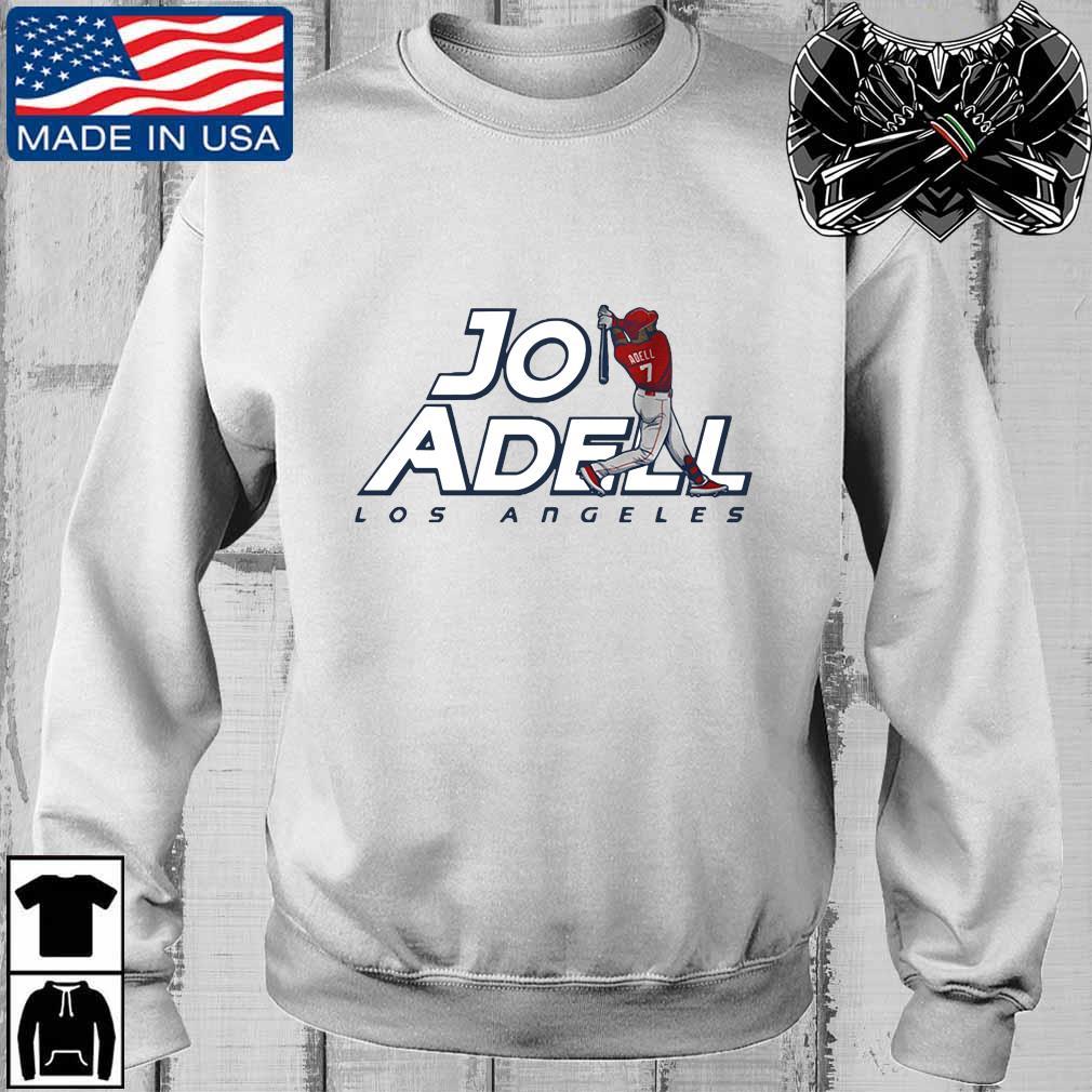 2021 Los Angeles Jo Adell Shirt Teechalla sweater trang