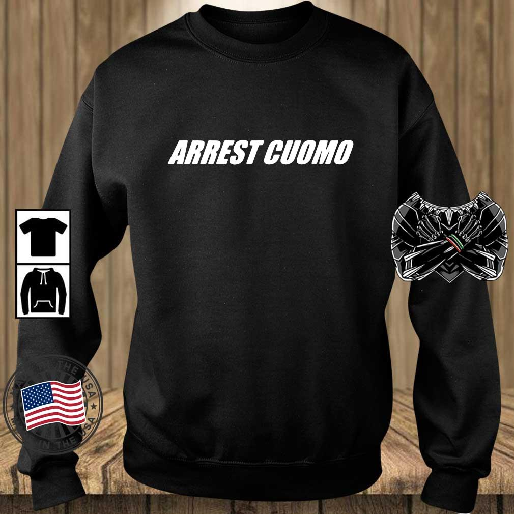 Arrest cuomo s Teechalla sweater den