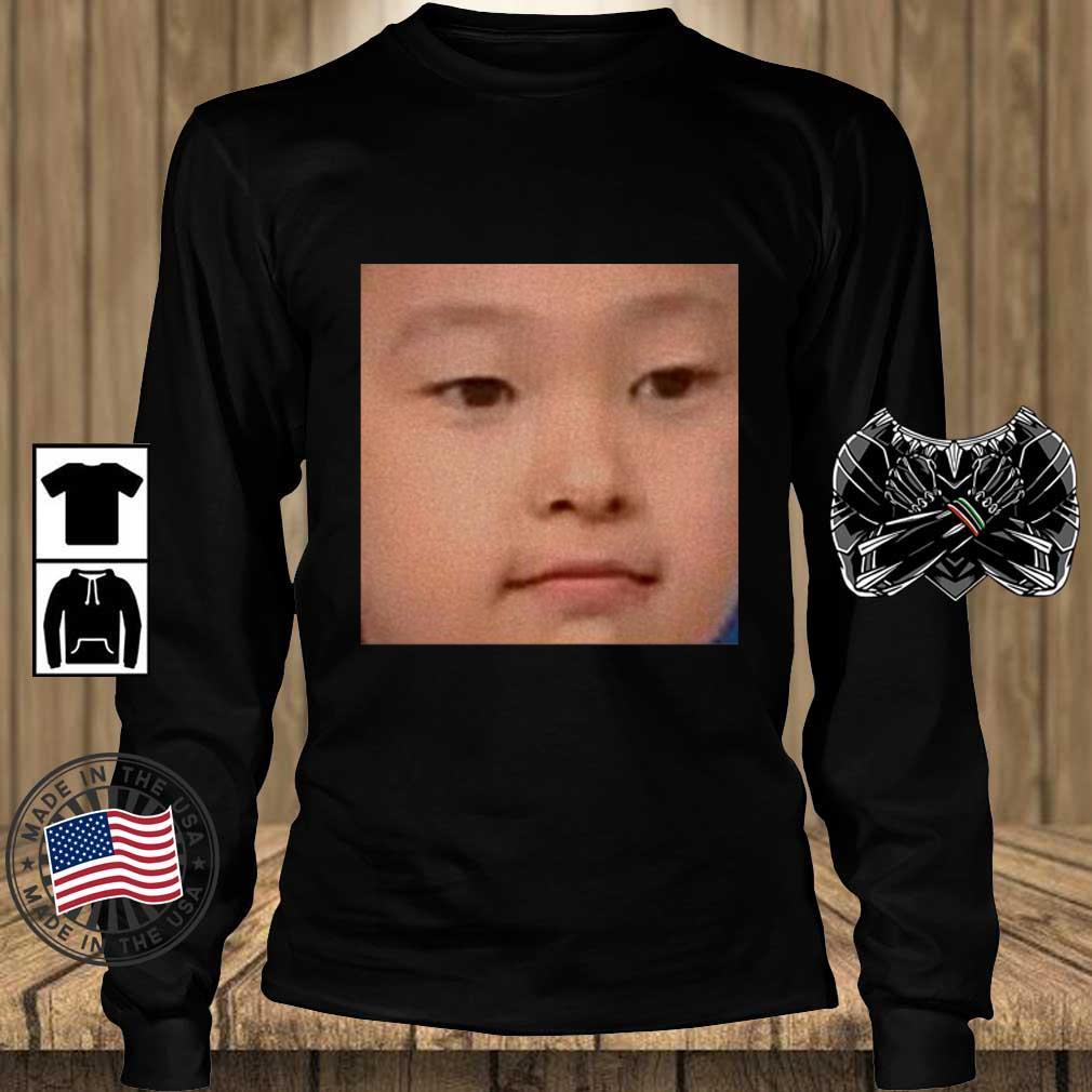 Baby Choerry Face Shirt Teechalla longsleeve den