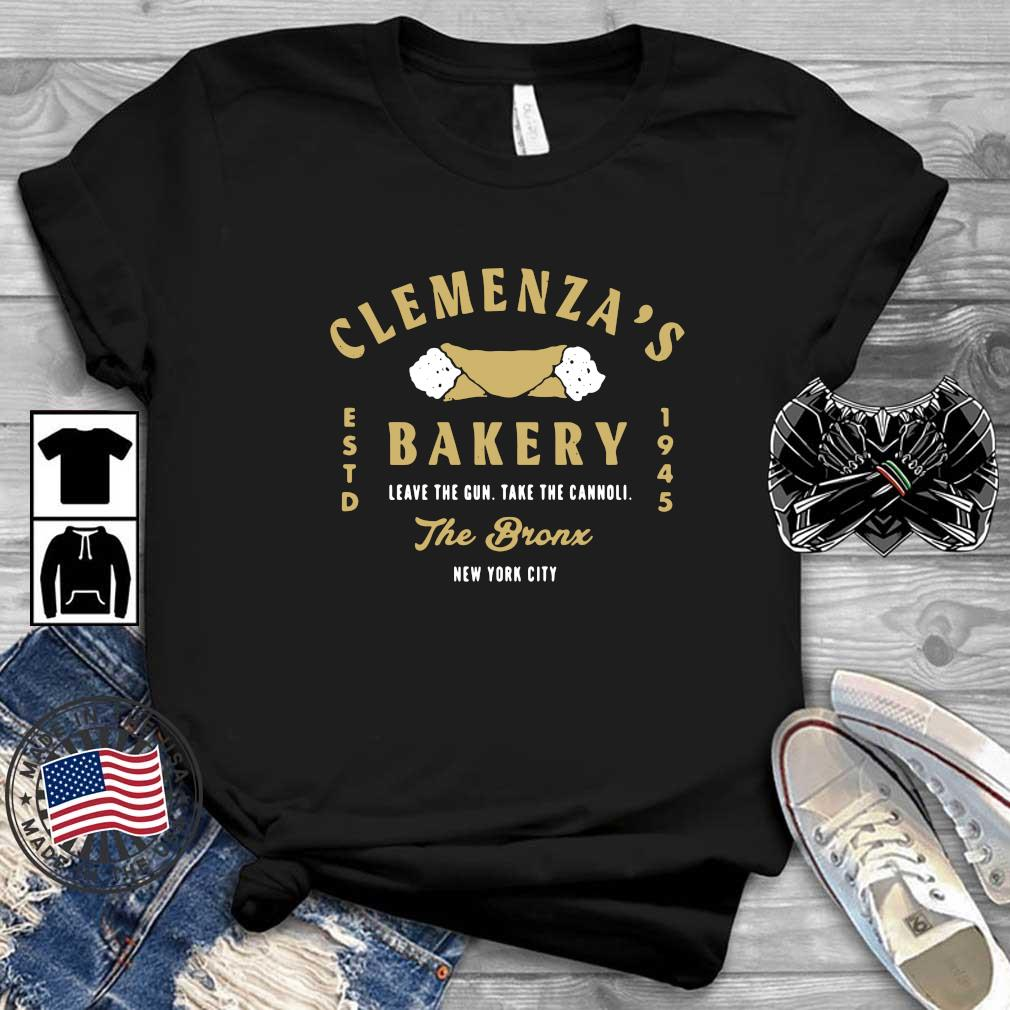 Clemenza's bakery leave the gun take the cannoli the bronx New York City shirt