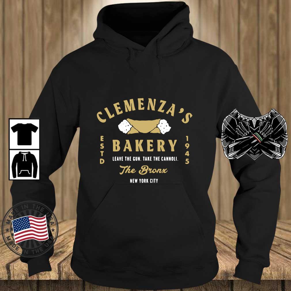 Clemenza's bakery leave the gun take the cannoli the bronx New York City s Teechalla hoodie den