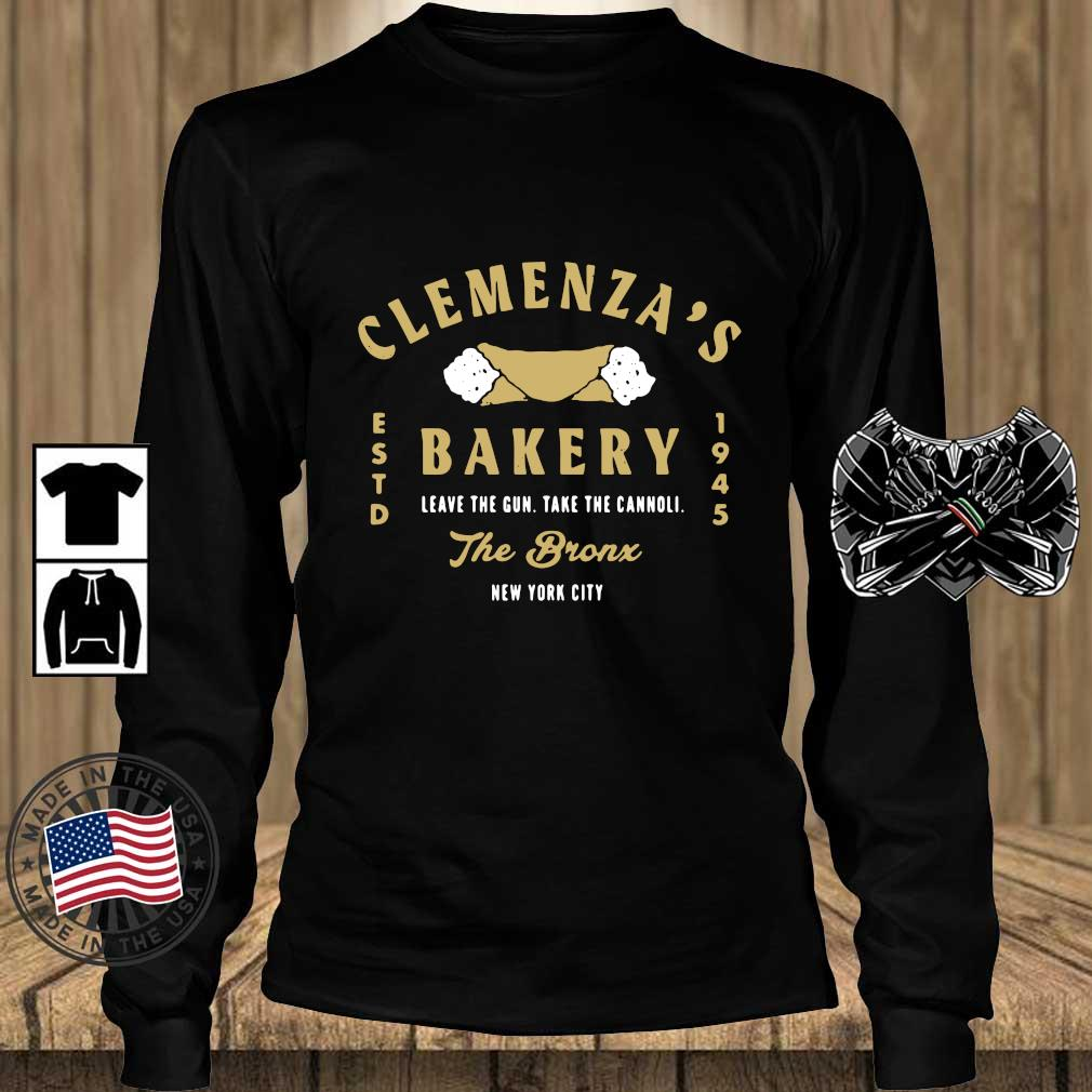 Clemenza's bakery leave the gun take the cannoli the bronx New York City s Teechalla longsleeve den