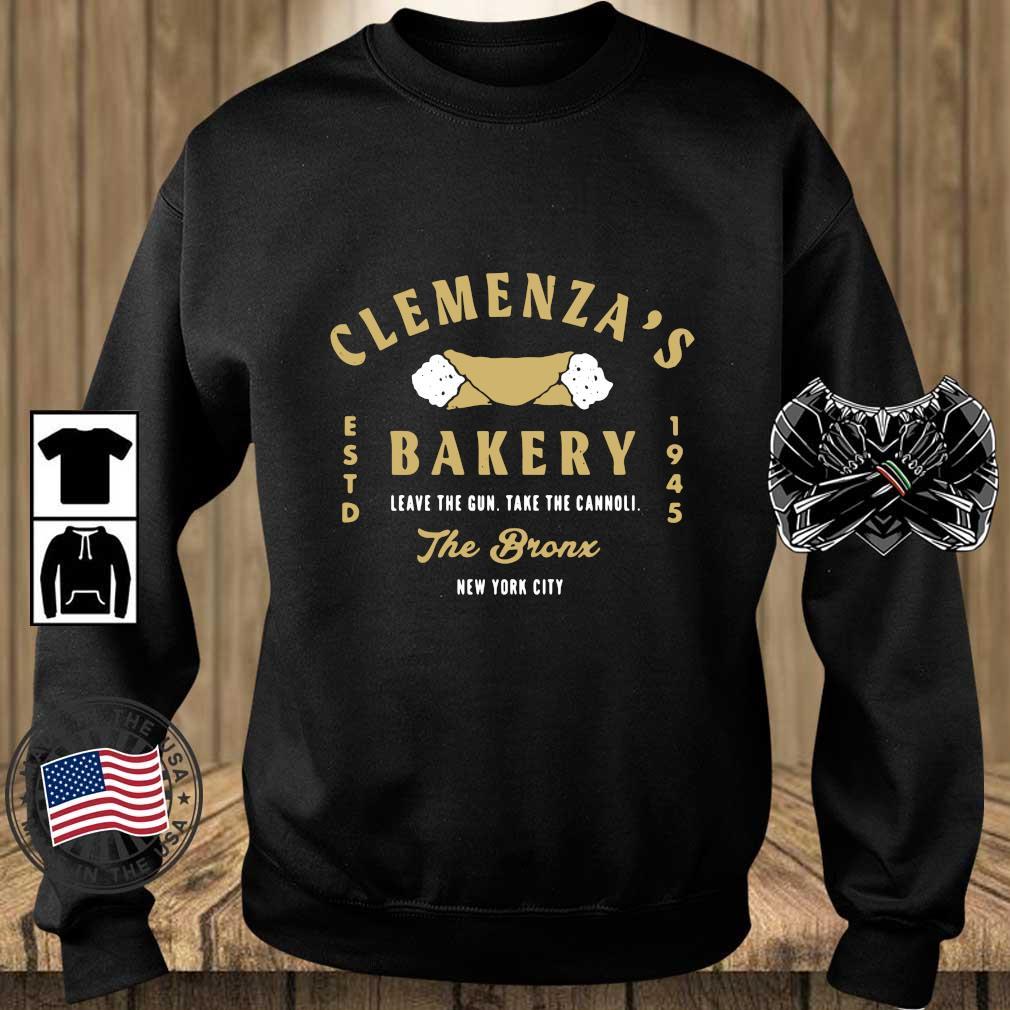 Clemenza's bakery leave the gun take the cannoli the bronx New York City s Teechalla sweater den