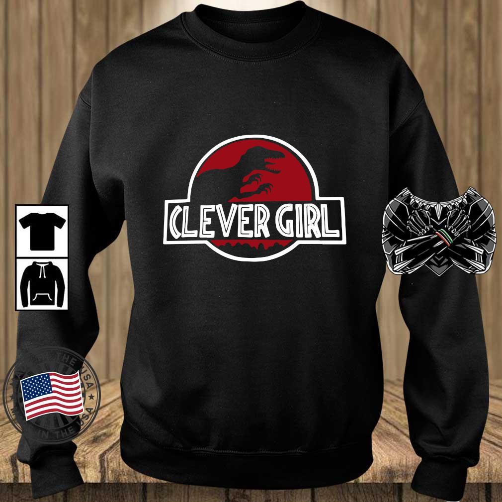 Clever Girl Velociraptor Dinosaur Parody Shirt Teechalla sweater den