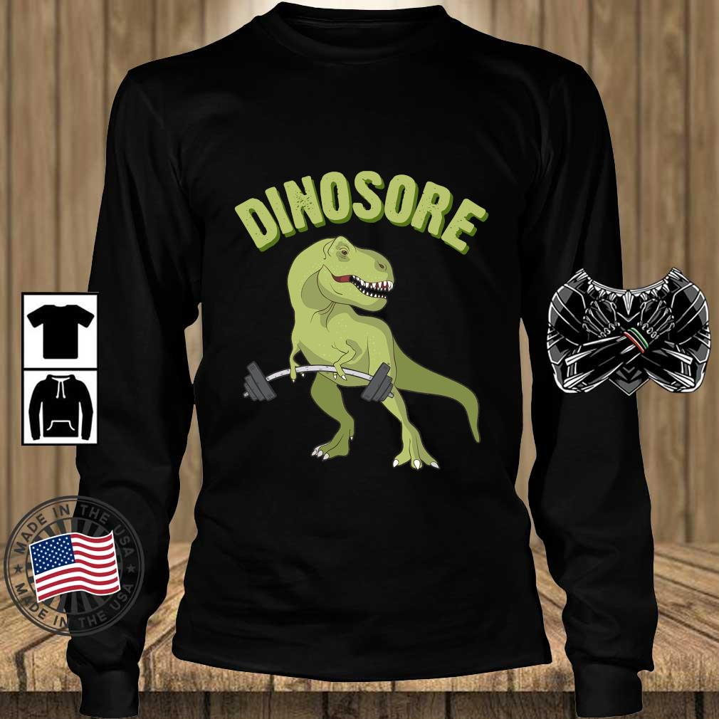 Dinosaur Dinosore Gym Shirt Teechalla longsleeve den