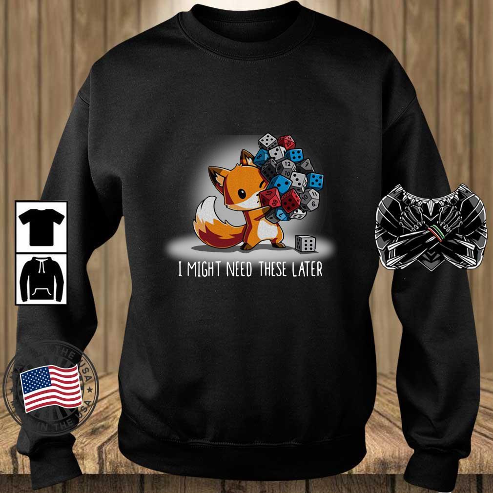 Fox I might need these later s Teechalla sweater den