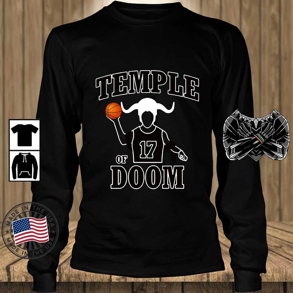 Garrett Temple Chicago Bulls Jerseys Temple of 17 Doom s Teechalla longsleeve den