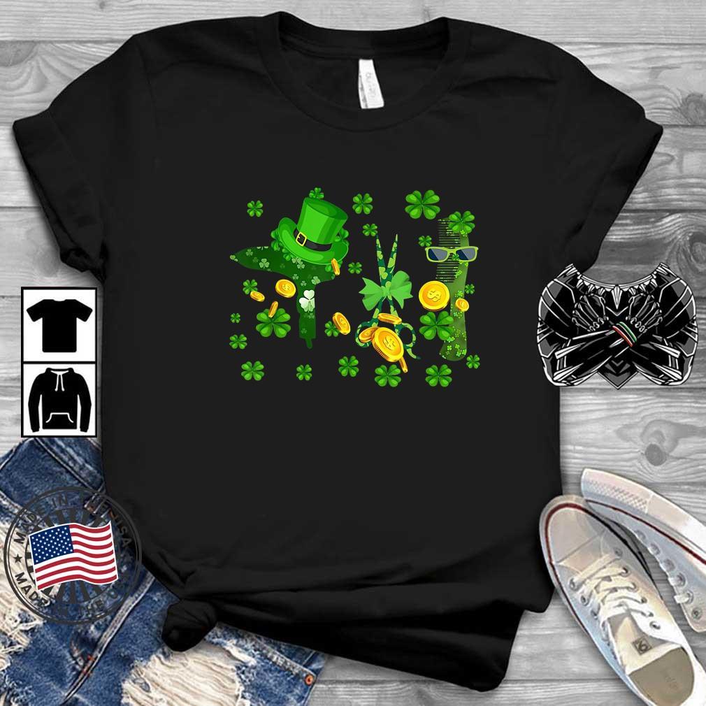 Hair Stylist Irish St Patrick's Day shirt