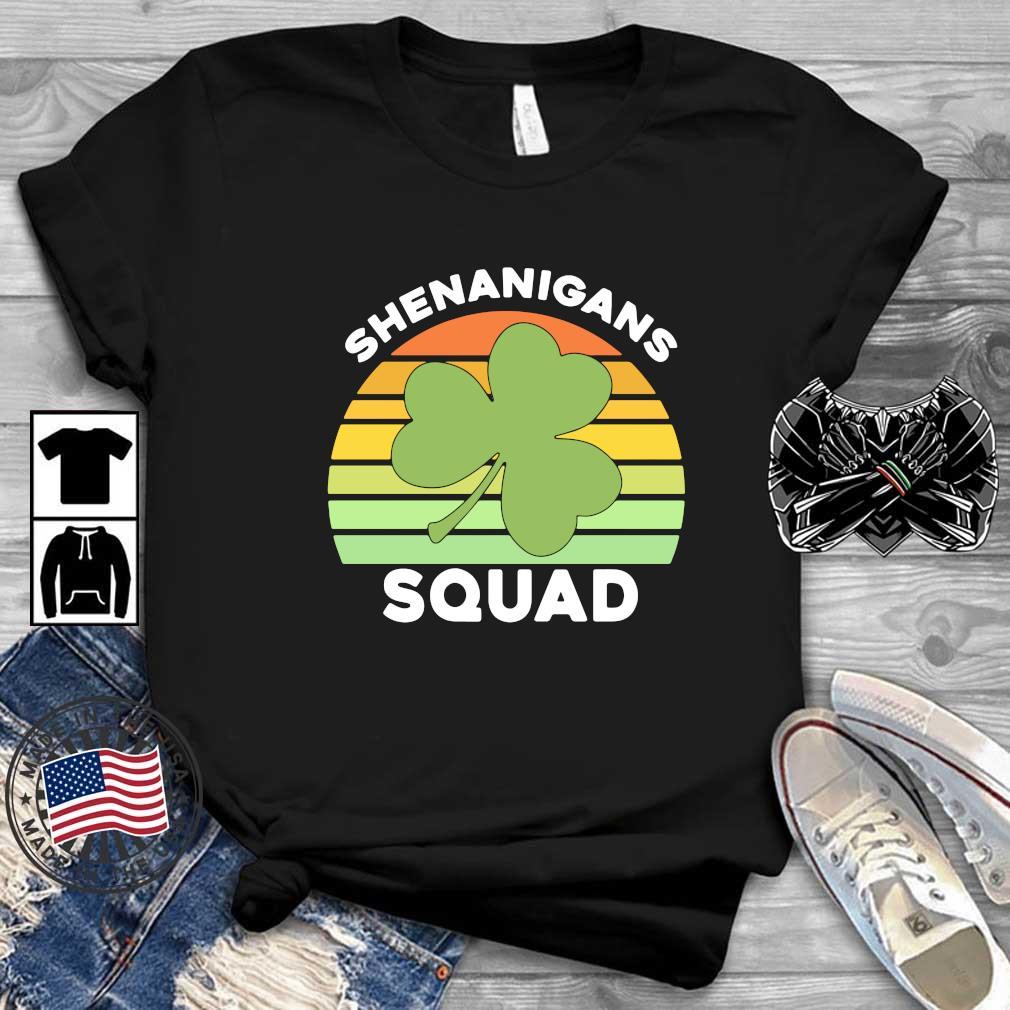 Offical Shamrock shenanigans squad St Patrick's Day vintage shirt