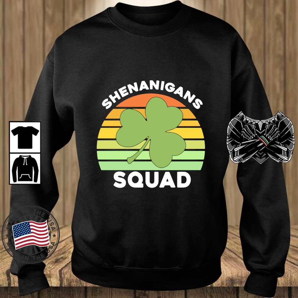 Offical Shamrock shenanigans squad St Patrick's Day vintage s Teechalla sweater den