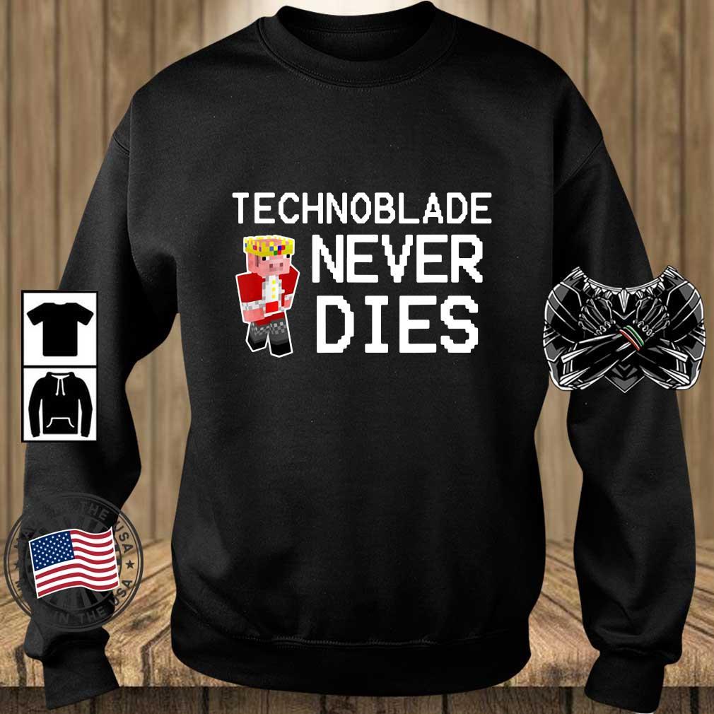 Technoblade never dies s Teechalla sweater den