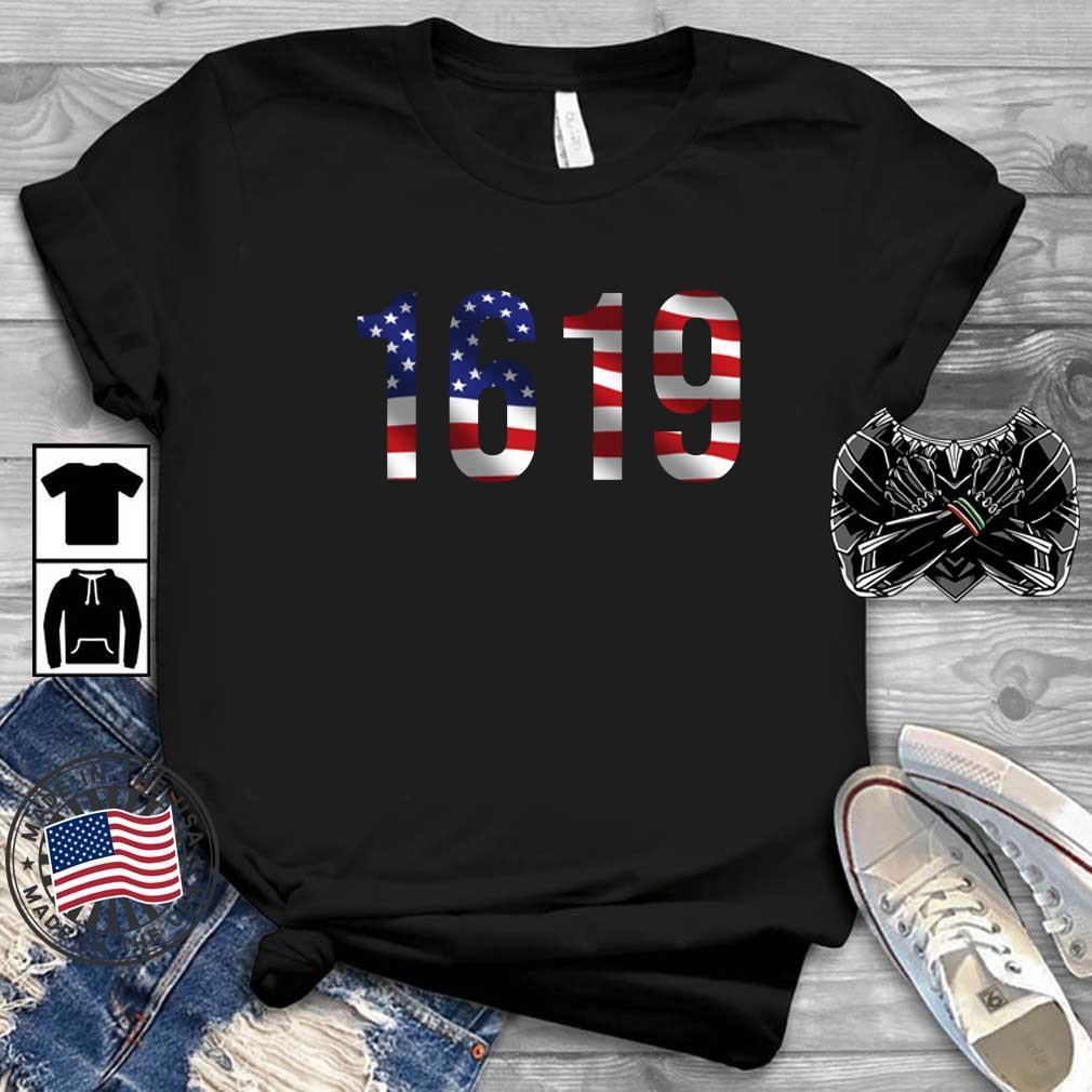 1619 American flag shirt