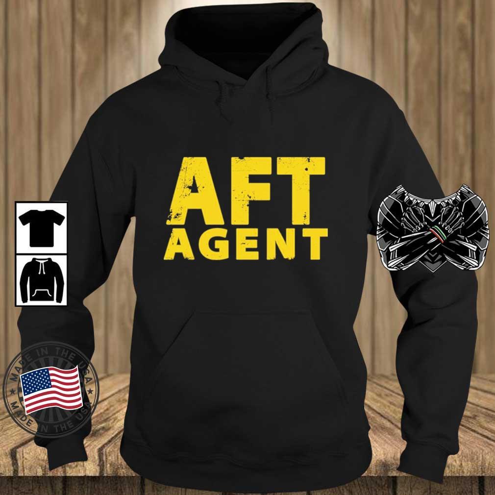 AFT Agent Shirt Teechalla hoodie den