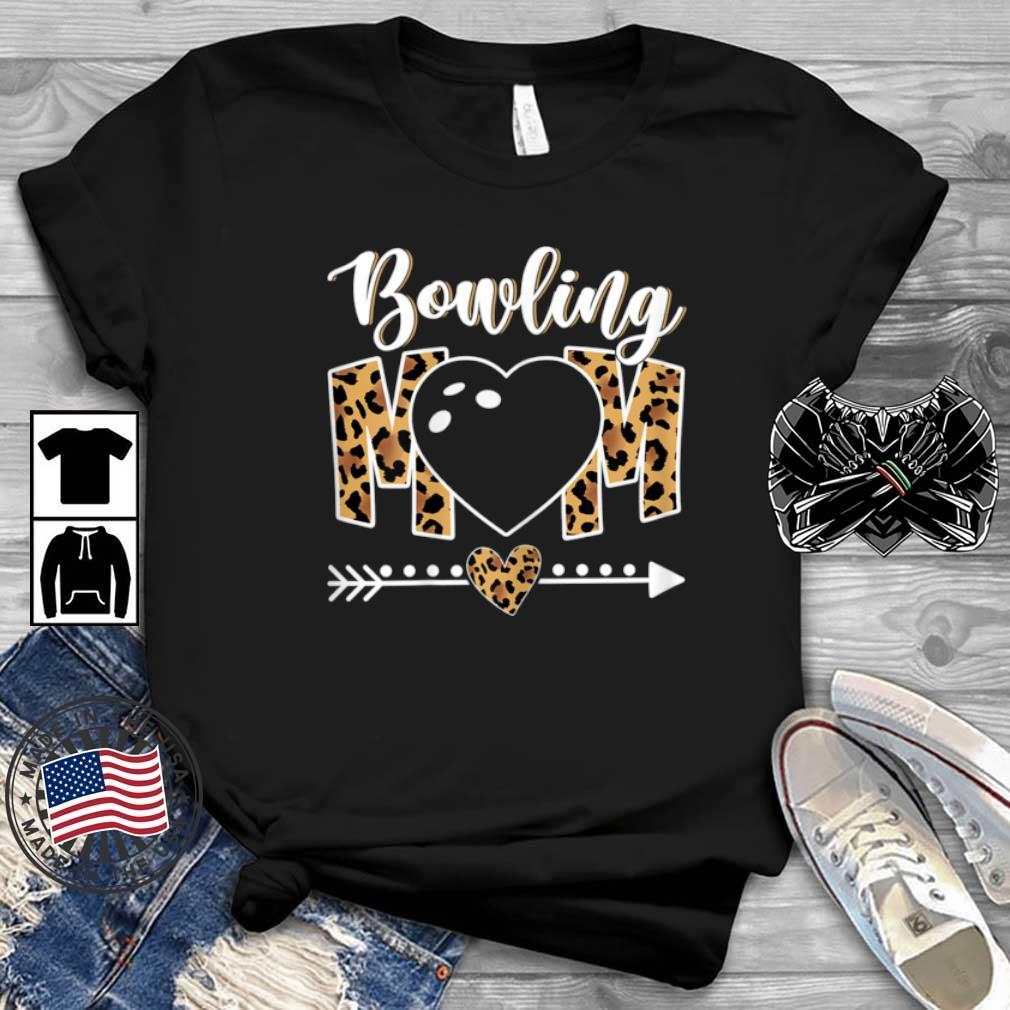 Bowling Mom Leopard Shirt