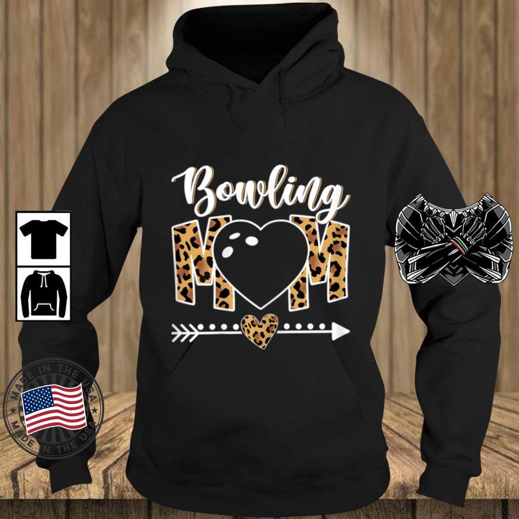 Bowling Mom Leopard Shirt Teechalla hoodie den