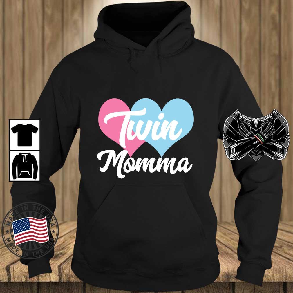 Hearts twin momma s Teechalla hoodie den