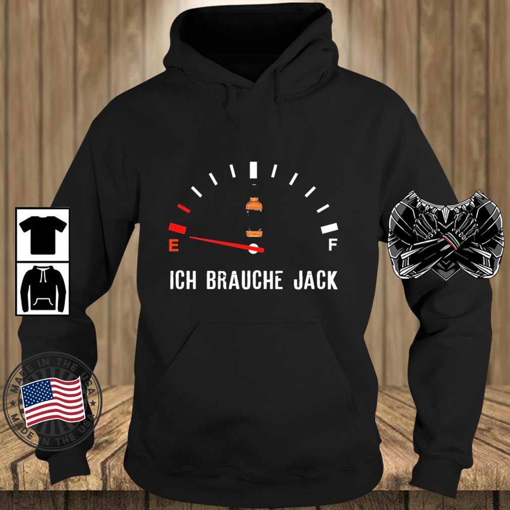 Ich Brauche Jack Shirt Teechalla hoodie den