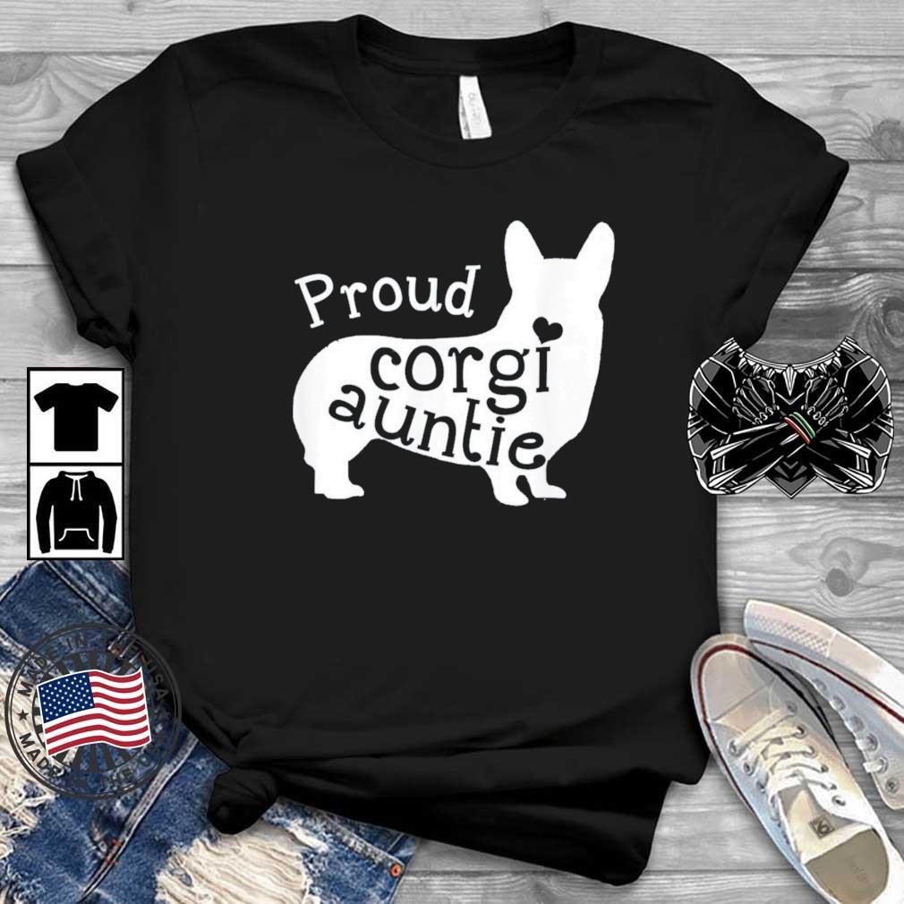 Proud Corgi Auntie Shirt