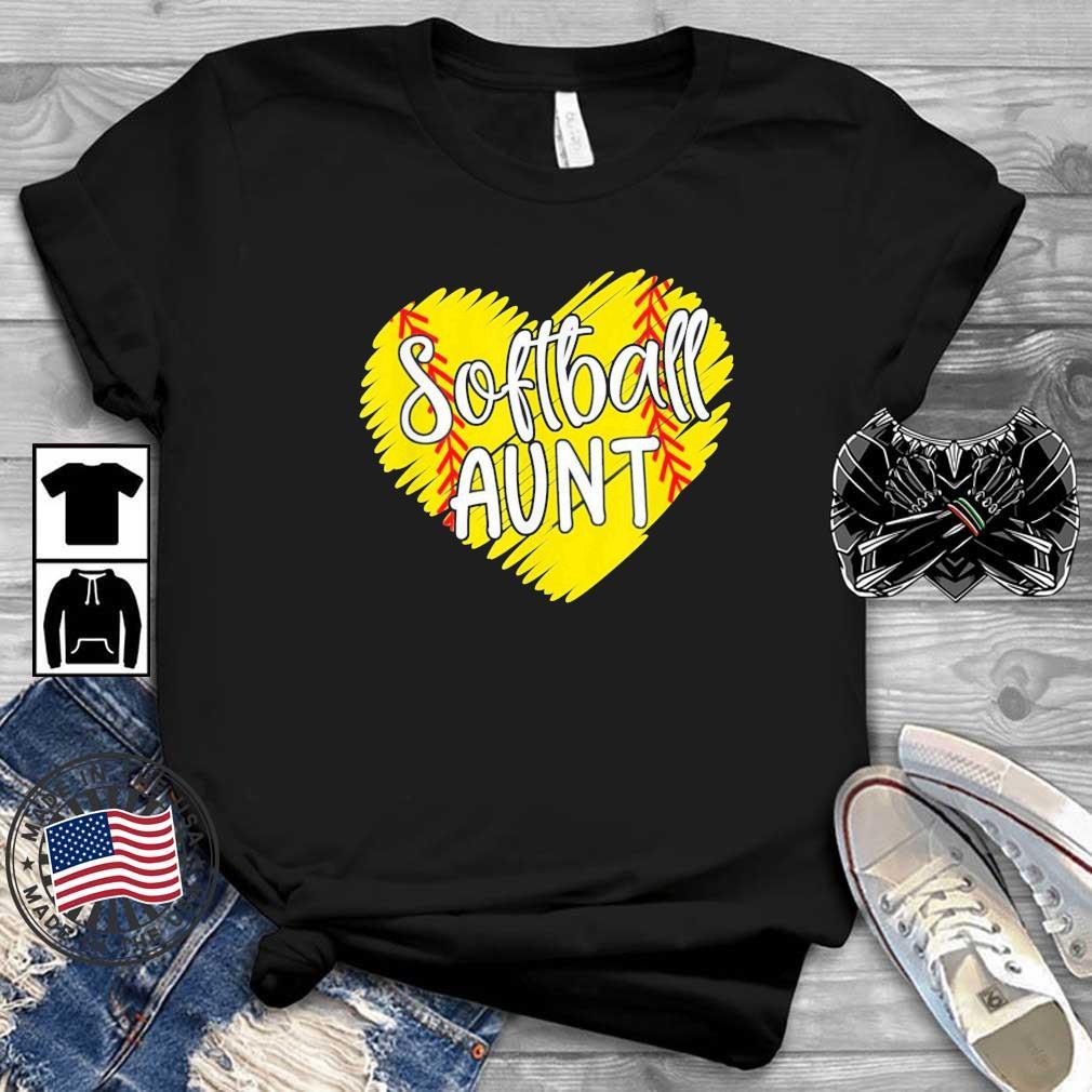 Softball Aunt Designs Baller Aunt Mother's Day Us 2021 Shirt