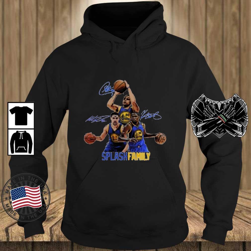 Splash Family Stephen Curry Signatures Shirt Teechalla hoodie den