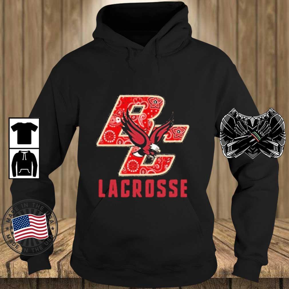 BC Lacrosse Bandana Eagles Shirt Teechalla hoodie den
