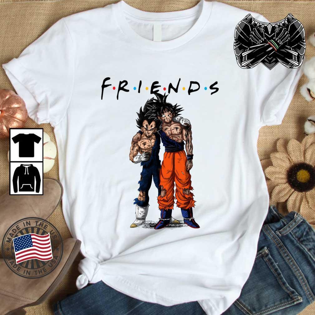 Dragon Ball Z Son Goku and Vegeta friends 2021 shirt