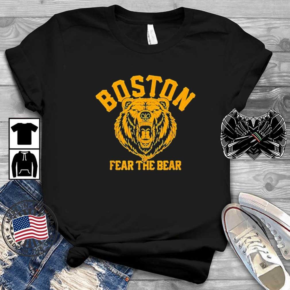 Fear The Bear Hockey Beware of Boston Gameday Bruin 2021 Shirt