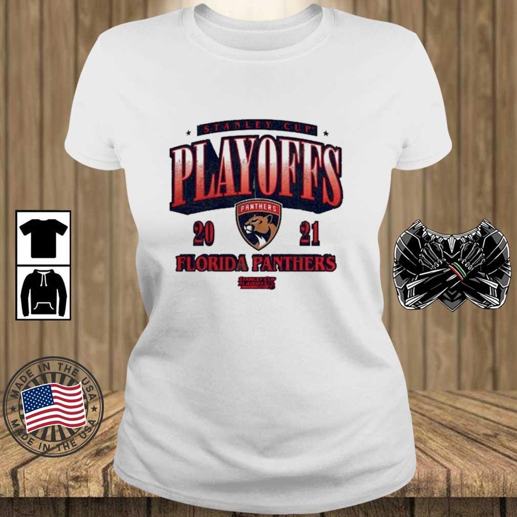 Florida Panthers 2021 Stanley Cup Playoffs Bound Ring the Alarm Shirt Teechalla ladies trang