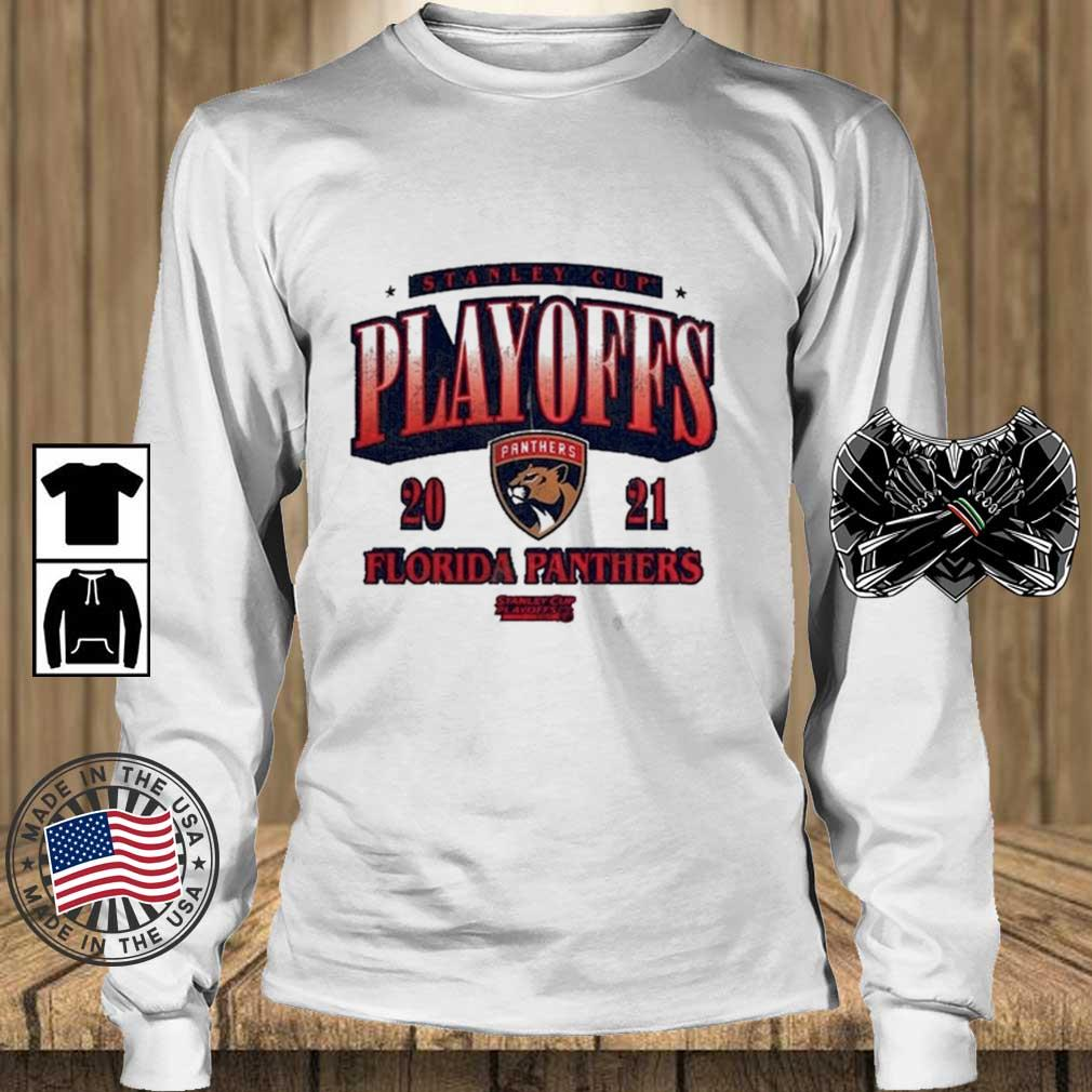 Florida Panthers 2021 Stanley Cup Playoffs Bound Ring the Alarm Shirt Teechalla longsleeve trang