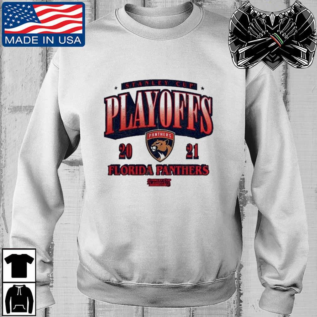 Florida Panthers 2021 Stanley Cup Playoffs Bound Ring the Alarm Shirt Teechalla sweater trang
