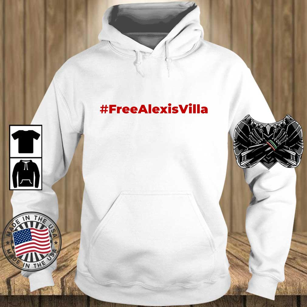 Free Alexis Villa s Teechalla hoodie trang