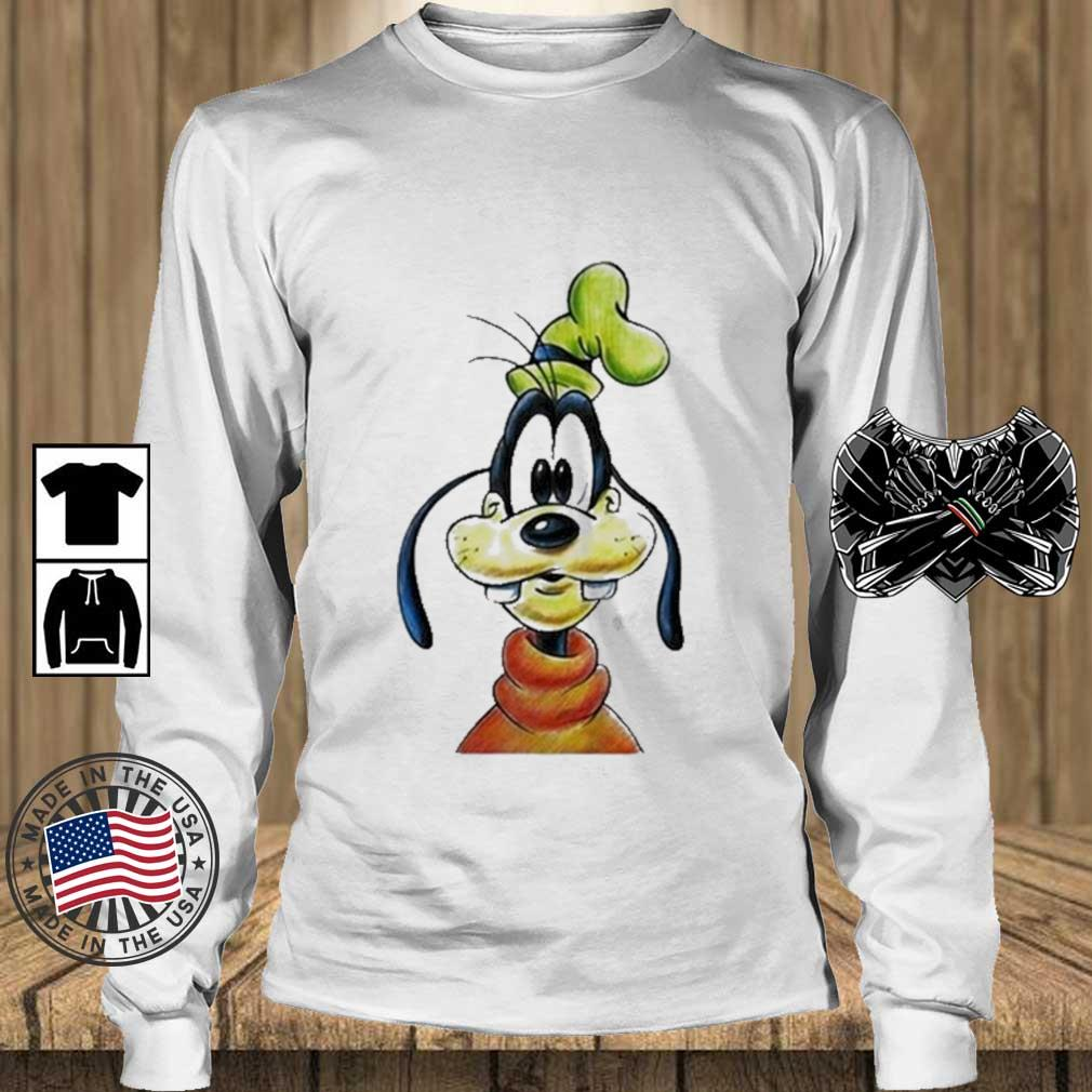 Goofy Disney 2021 Shirt Teechalla longsleeve trang