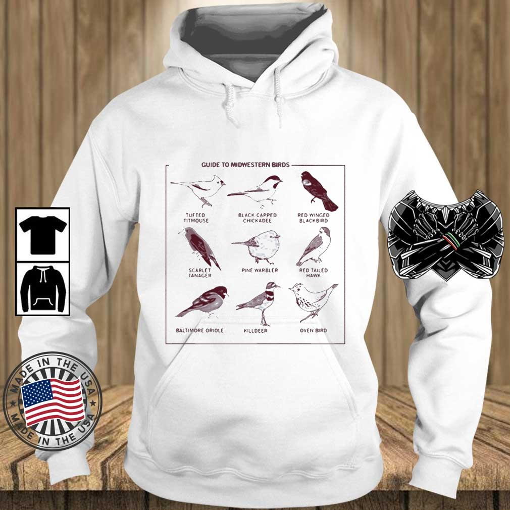 Guide To Midwestern Birds Shirt Teechalla hoodie trang