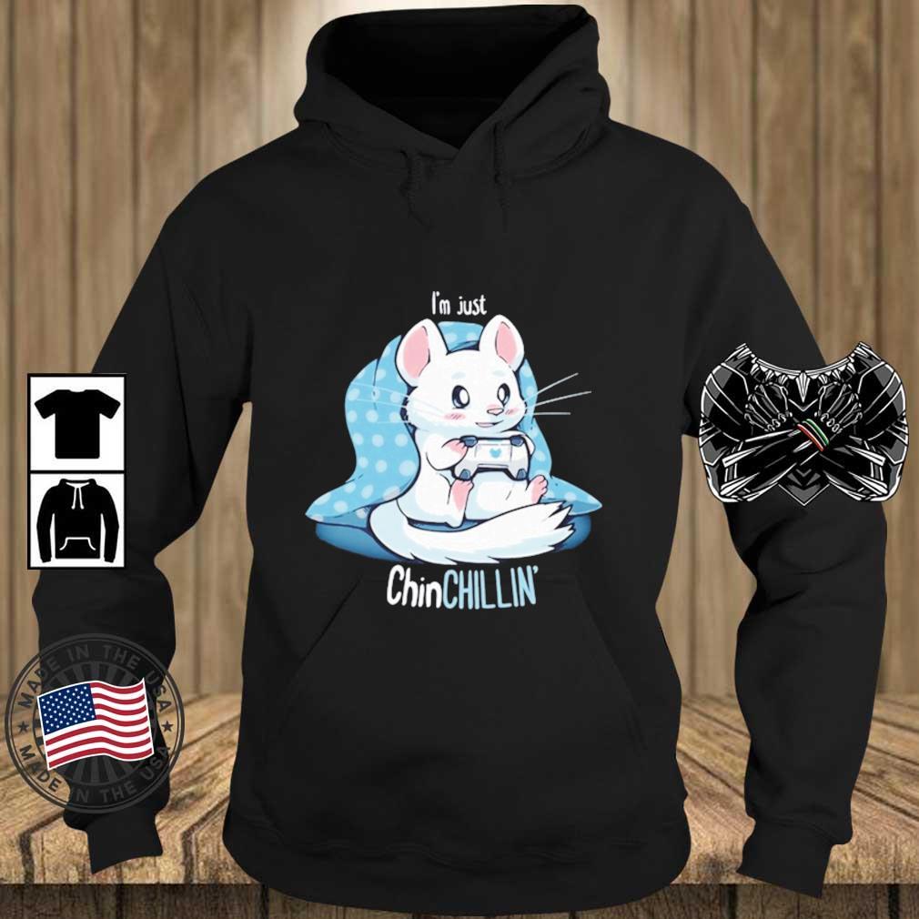 Lovely Chinchillin And Gaming Shirt Teechalla hoodie den