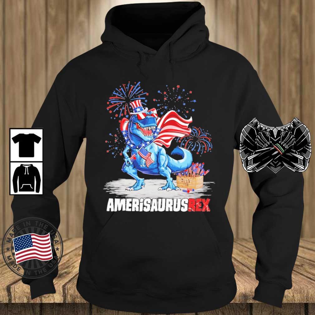 Amerisaurusrex 4th Of July Shirt Teechalla hoodie den