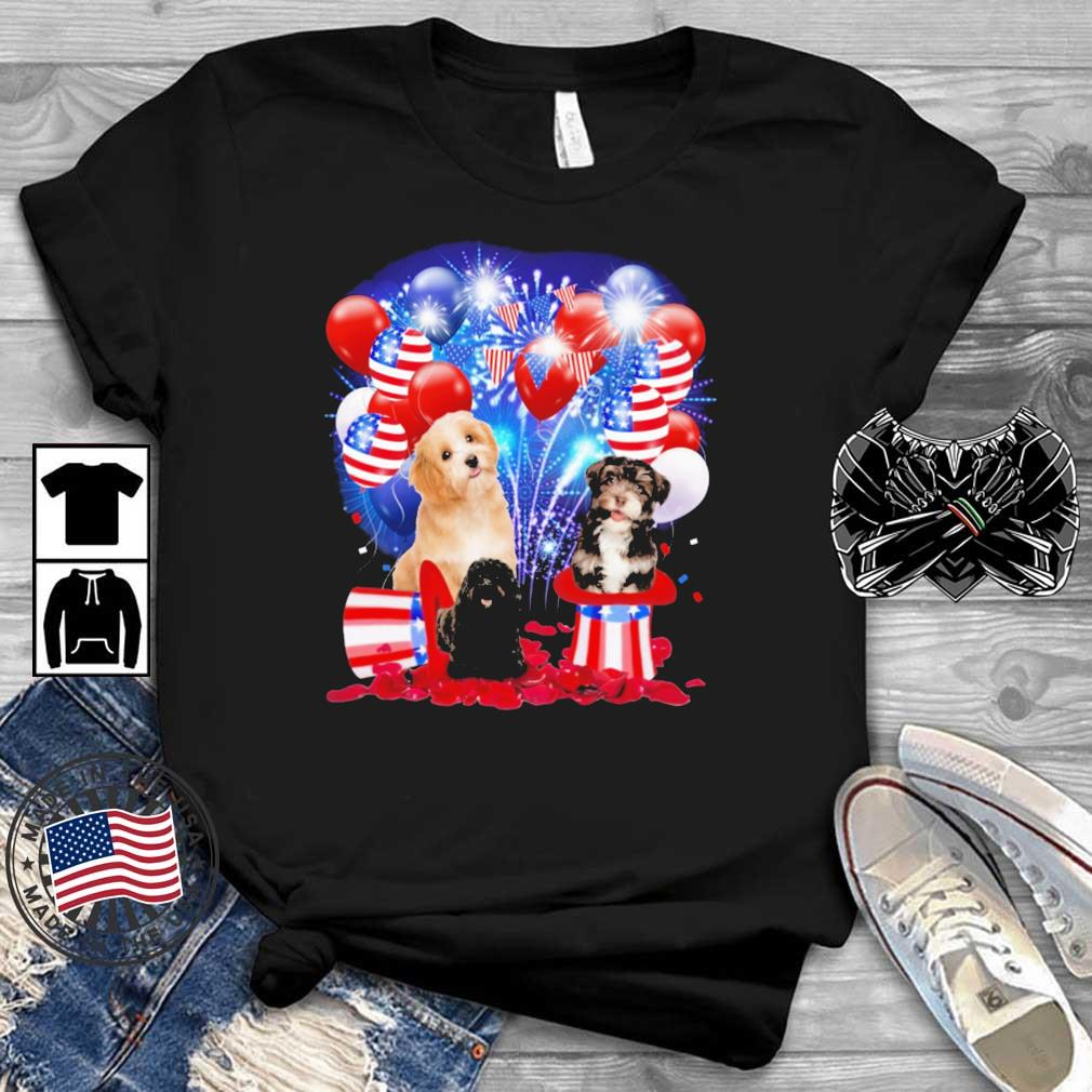 German Shepherd American Independence Day 4th Of July Shirt