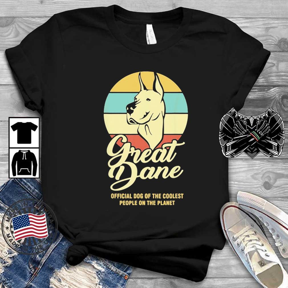 Great Dance Official Dog Of The Coolest People On The Planet Vintage Shirt