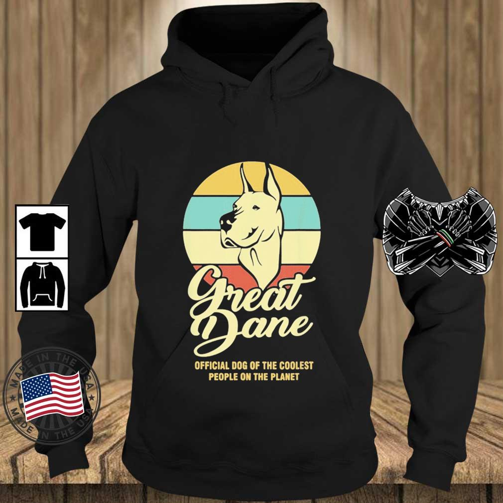 Great Dance Official Dog Of The Coolest People On The Planet Vintage Shirt Teechalla hoodie den