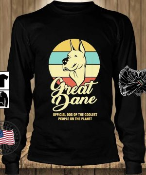 Great Dance Official Dog Of The Coolest People On The Planet Vintage Shirt Teechalla longsleeve den