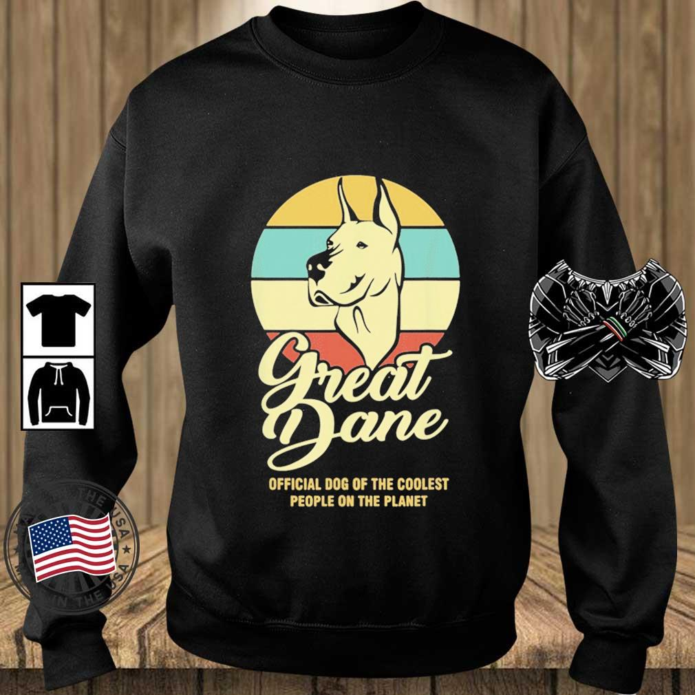 Great Dance Official Dog Of The Coolest People On The Planet Vintage Shirt Teechalla sweater den
