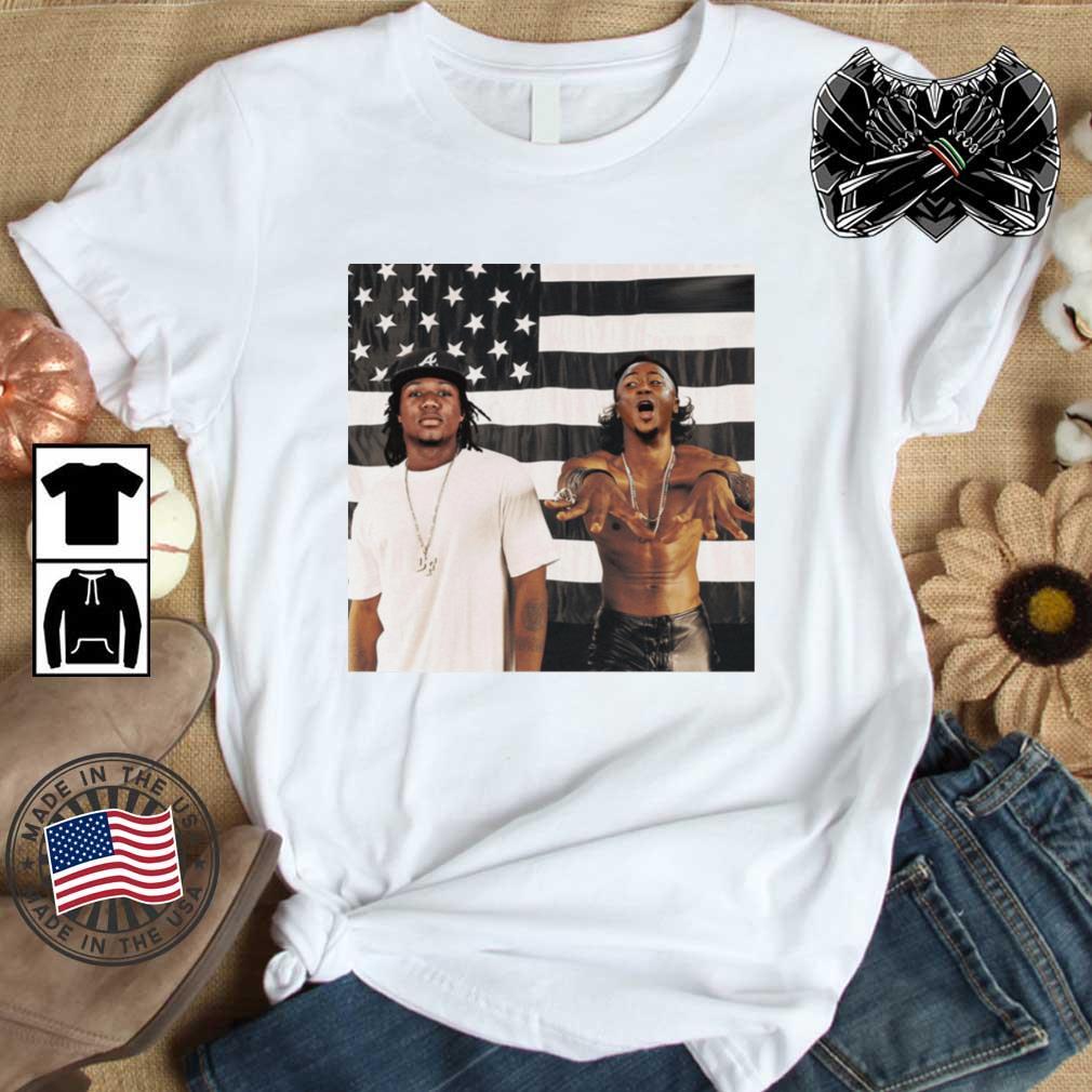 Outkast Stankonia America flag Shirt
