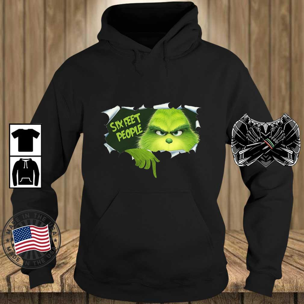 The Grinch six feet people s Teechalla hoodie den