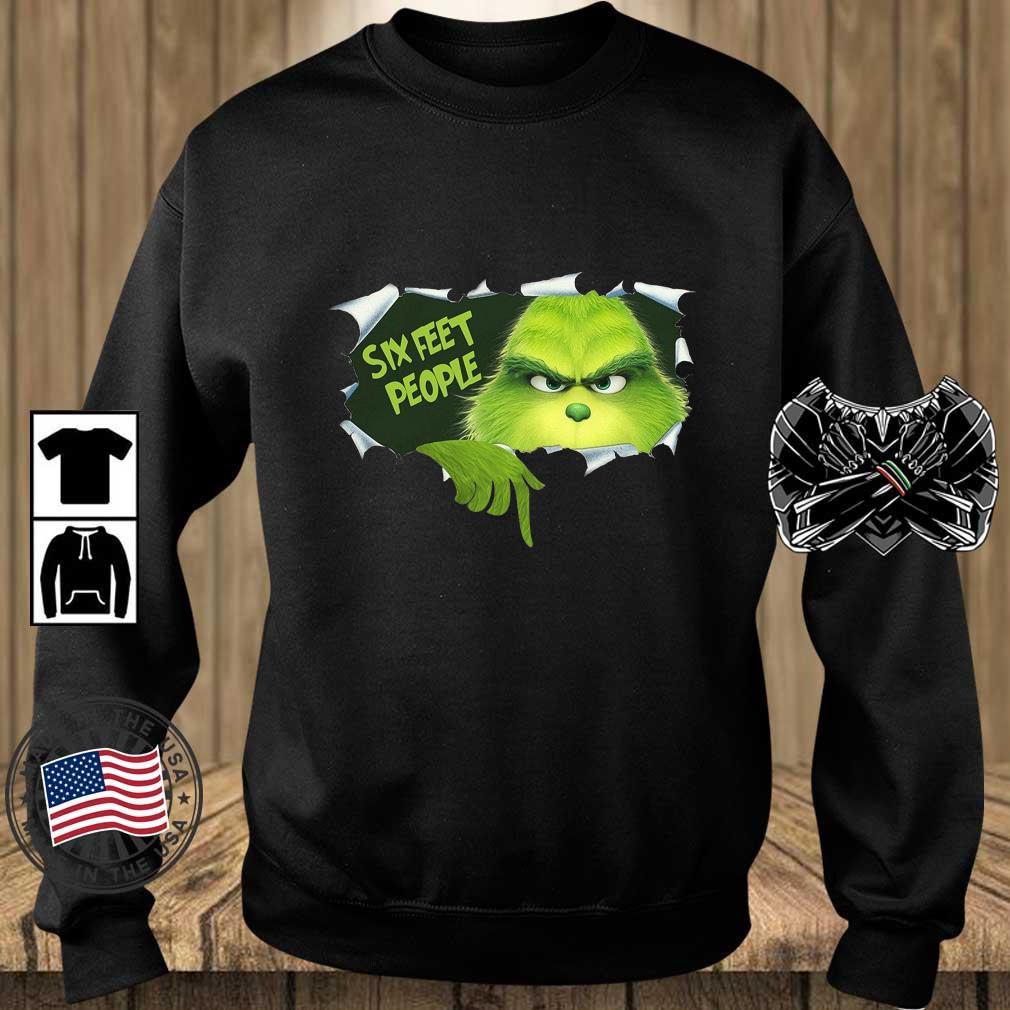 The Grinch six feet people s Teechalla sweater den