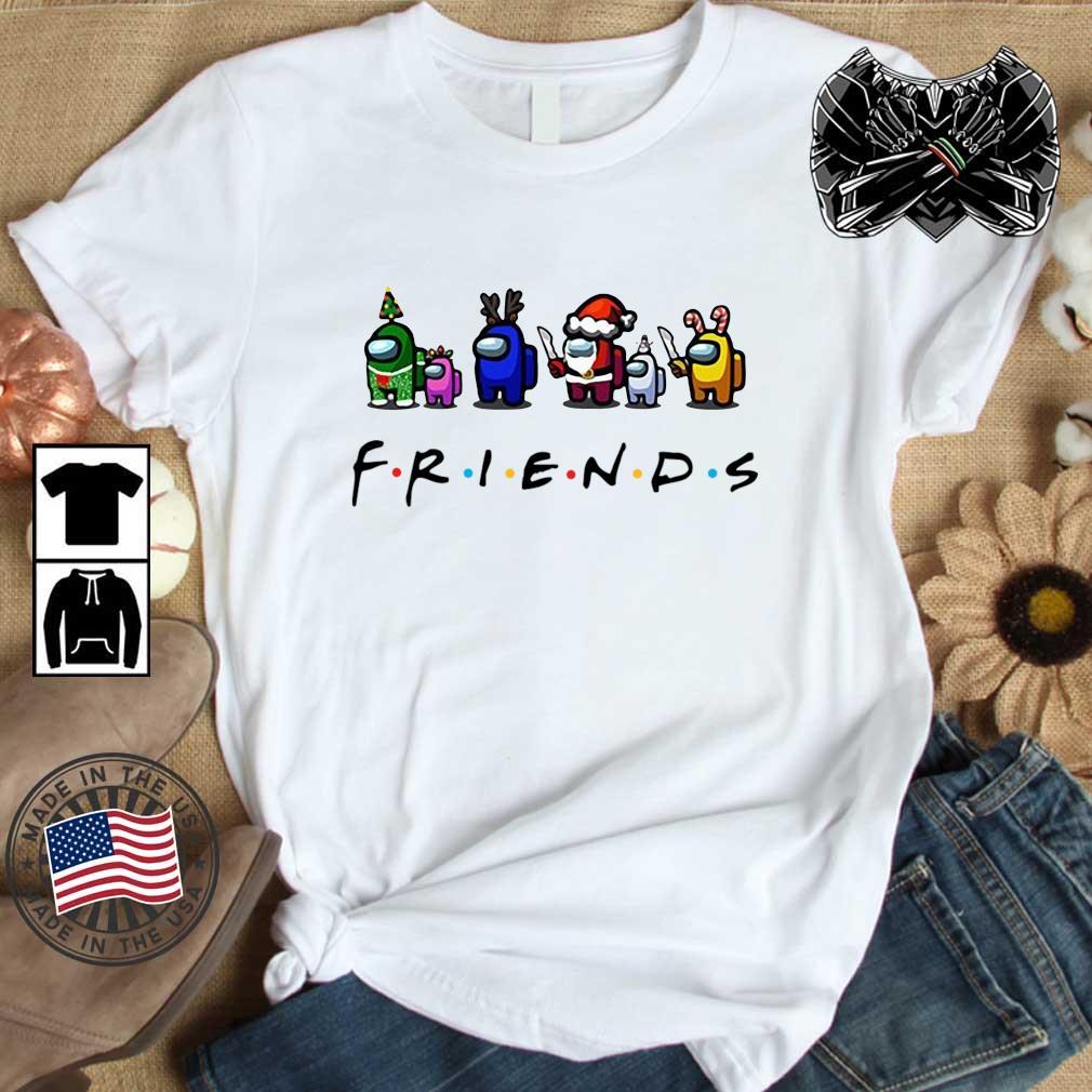 Among Us Friends Christmas sweater, shirt