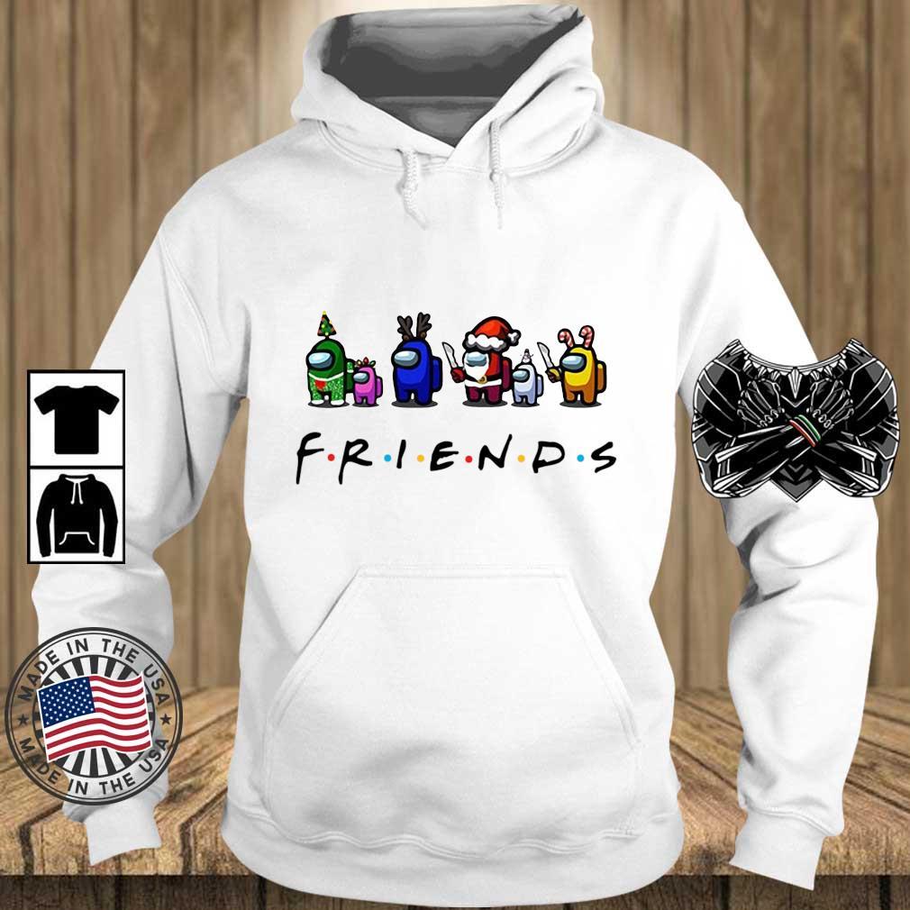 Among Us Friends Christmas sweater, s Teechalla hoodie trang