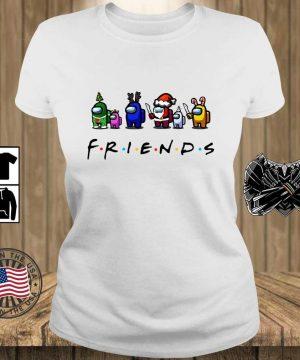 Among Us Friends Christmas sweater, s Teechalla ladies trang