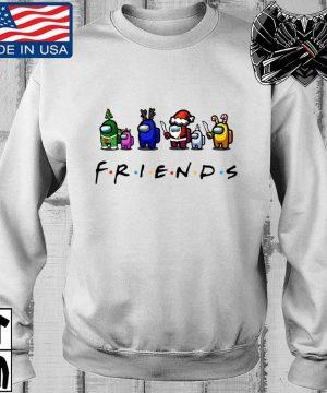 Among Us Friends Christmas sweater, s Teechalla sweater trang